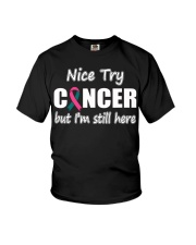 ovarian-breast-cancer-sth Youth T-Shirt thumbnail