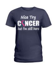 ovarian-breast-cancer-sth Ladies T-Shirt thumbnail