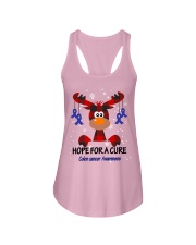 colon-cancer-darkblue-hfac Ladies Flowy Tank thumbnail