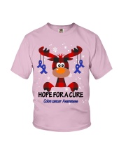 colon-cancer-darkblue-hfac Youth T-Shirt thumbnail