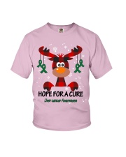 liver-cancer-emerald-green-hfac Youth T-Shirt thumbnail