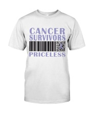 all-cancer-lavender-priceless Classic T-Shirt front