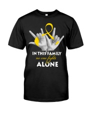 childhood-cancer-gold-fight-together Premium Fit Mens Tee thumbnail