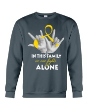 childhood-cancer-gold-fight-together Crewneck Sweatshirt thumbnail