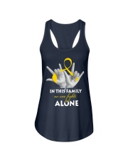 childhood-cancer-gold-fight-together Ladies Flowy Tank thumbnail