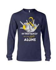 childhood-cancer-gold-fight-together Long Sleeve Tee thumbnail