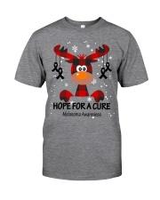 melanoma-black-hfac Classic T-Shirt front