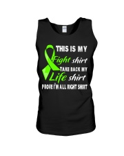 nonhodgkins-lymphoma-limegreen-myshirt Unisex Tank thumbnail