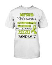 lymphoma-lime-npan Classic T-Shirt front