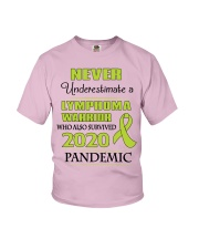 lymphoma-lime-npan Youth T-Shirt thumbnail