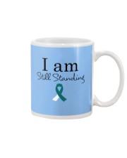 cervical-cancer-teal-white-ssta Mug thumbnail