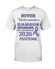 all-cancer-lavender-npan Classic T-Shirt front