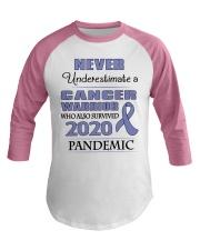 all-cancer-lavender-npan Baseball Tee thumbnail