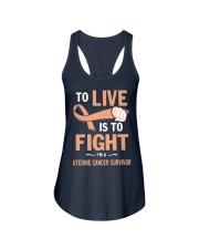 uterine-cancer-peach-lfi Ladies Flowy Tank thumbnail