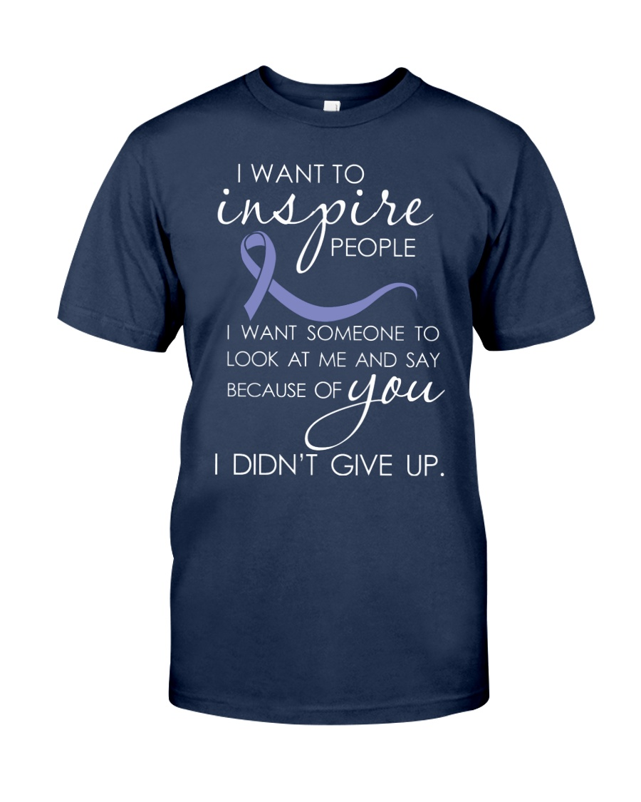 all-cancer-lavender-inspire Classic T-Shirt
