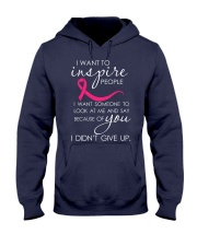 breast-cancer-pink-inspire Hooded Sweatshirt thumbnail