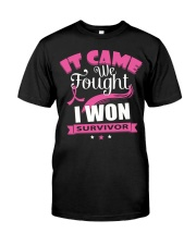 breast-cancer-pink-iwon1 Classic T-Shirt front