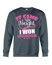 breast-cancer-pink-iwon1 Crewneck Sweatshirt thumbnail