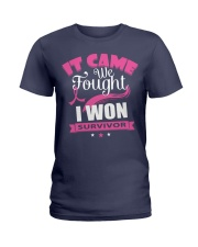 breast-cancer-pink-iwon1 Ladies T-Shirt thumbnail