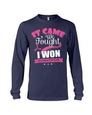 breast-cancer-pink-iwon1 Long Sleeve Tee thumbnail