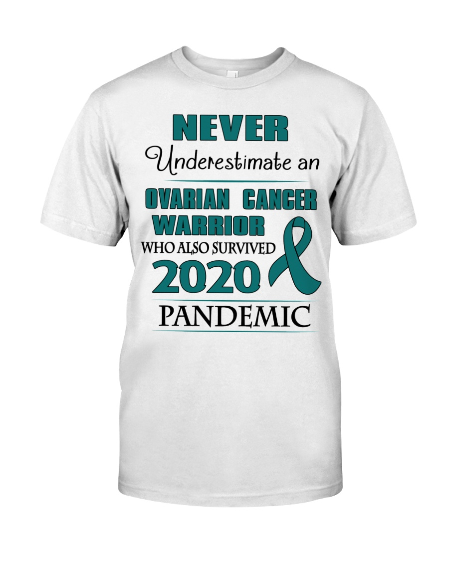ovarian-cancer-teal-npan Classic T-Shirt