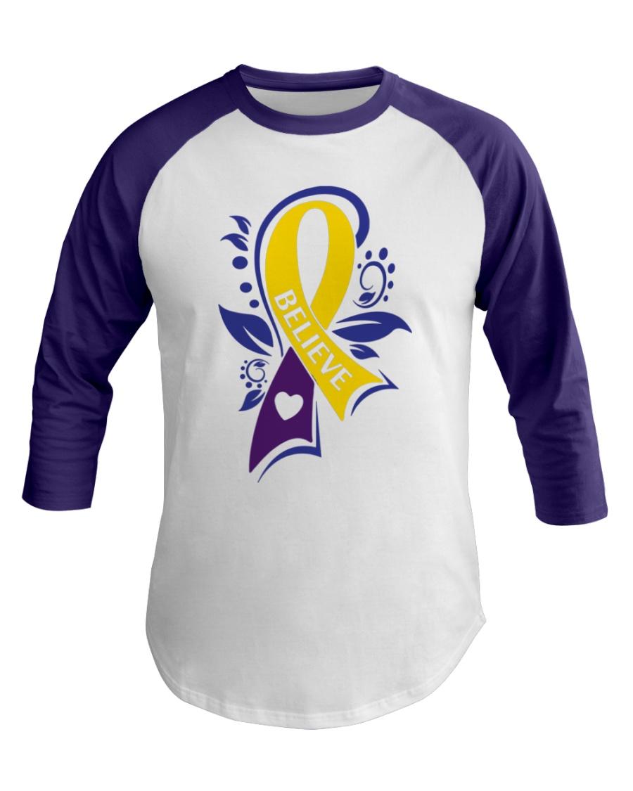 Bladder Cancer Marigold Blue Purple Believe