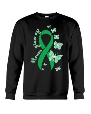 bile-duct-cancer-kellygreen-never Crewneck Sweatshirt thumbnail