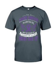 Pancreatic-cancer-purple Classic T-Shirt front