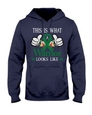 liver-cancer-emerald-green-tiwall Hooded Sweatshirt thumbnail