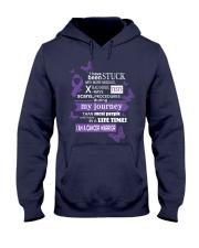pancreatic-cancer-purple-STUCK Hooded Sweatshirt thumbnail