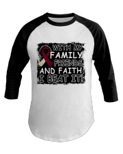 head-neck-cancer-burgundy-ivory-family-friends Baseball Tee front