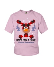 All cancer lavender Youth T-Shirt thumbnail