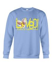 bone-cancer-yellow-loved Crewneck Sweatshirt thumbnail