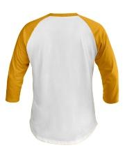 bone-cancer-yellow-loved Baseball Tee back