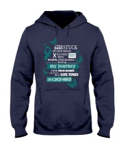 Primary-peritoneal-carcinoma-teal-STUCK Hooded Sweatshirt thumbnail