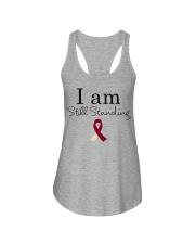 head-neck-cancer-burgundy-ivory-ssta Ladies Flowy Tank thumbnail