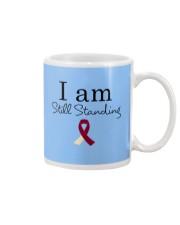 head-neck-cancer-burgundy-ivory-ssta Mug thumbnail