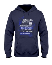 colon-cancer-darkblue-STUCK Hooded Sweatshirt thumbnail