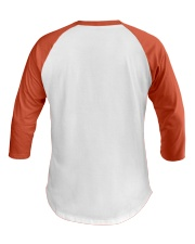 uterine-cancer-peach-rtb Baseball Tee back
