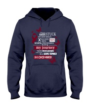 multiple-myeloma-burgundy-STUCK Hooded Sweatshirt thumbnail