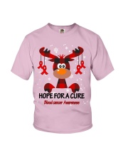 blood-cancer-red-hfac Youth T-Shirt thumbnail