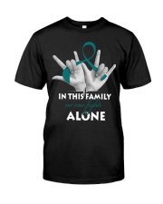 ovarian-cancer-teal-fight-together Classic T-Shirt front