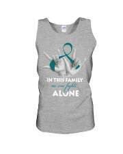 ovarian-cancer-teal-fight-together Unisex Tank thumbnail