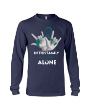 ovarian-cancer-teal-fight-together Long Sleeve Tee thumbnail