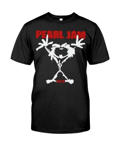 pearl jam stickman shirt