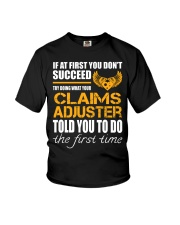 STICKER CLAIMS ADJUSTER Youth T-Shirt thumbnail