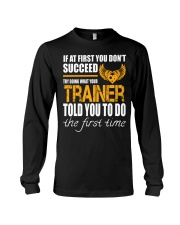STICKER TRAINER Long Sleeve Tee thumbnail