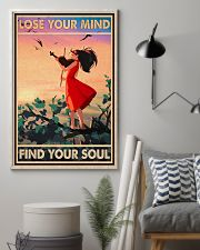 Lose Your Mind Find Your Soul Poster - Violin Playing Girl Poster - Home Decor - No Frame Full Size 11x17 16x24 24x36 Inches 11x17 Poster lifestyle-poster-1