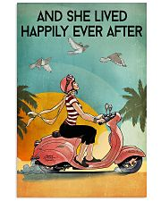 And She Lived Happily Ever After Poster - Home Decor - No Frame Full Size 11x17 16x24 24x36 Inches 11x17 Poster front