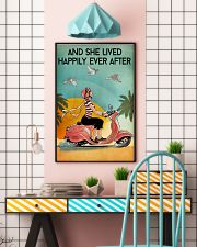 And She Lived Happily Ever After Poster - Home Decor - No Frame Full Size 11x17 16x24 24x36 Inches 11x17 Poster lifestyle-poster-6